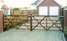 Wooden 5 Bar Gates